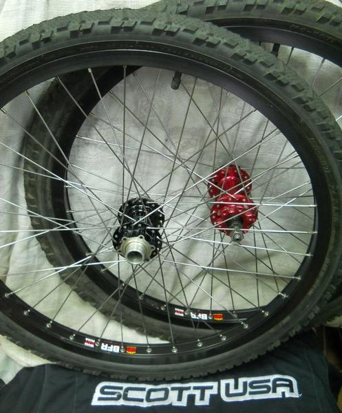 Wheels BFR set 24 ''